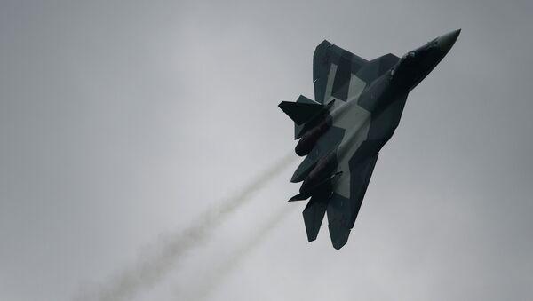 Sukhoi T-50 PAK FA - Sputnik International