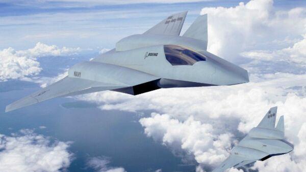 Boeing unveils updated F/A-XX sixth-gen fighter concept - Sputnik International