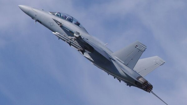 Boeing F/A-18E/F Super Hornet - Sputnik International