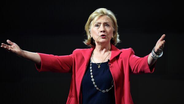 Former US Secretary of State Hillary Clinton - Sputnik International