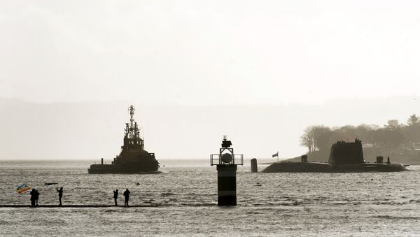 Base at Faslane, in western Scotland - Sputnik International