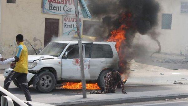 Unrest in Somali - Sputnik International