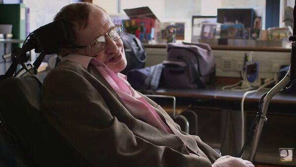 Stephen Hawking Sings Monty Python's Galaxy Song - Sputnik International