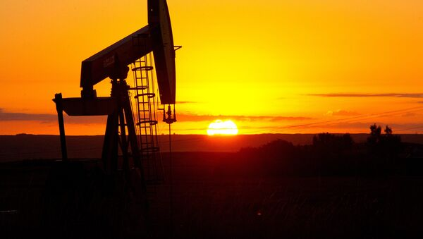 An oil well near Tioga, North Dakota - Sputnik International
