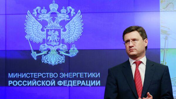 Russian Minister of Energy Alexander Novak - Sputnik International