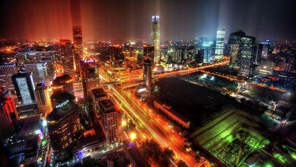 Downtown Beijing After Rain - Sputnik International