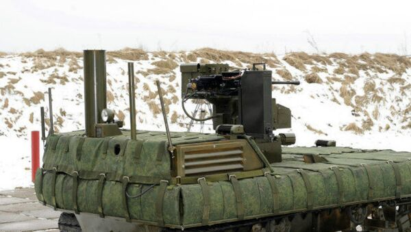 As the academy will be the first in Russia to teach military robotics and intelligent armament systems, competition for a coveted place in the department is expected to exceed available places tenfold. - Sputnik International