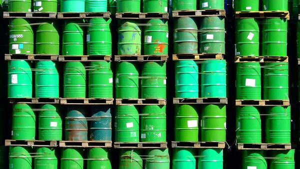 Oil barrels - Sputnik International