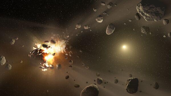 Some exploding asteroids discovered by NASA - Sputnik International
