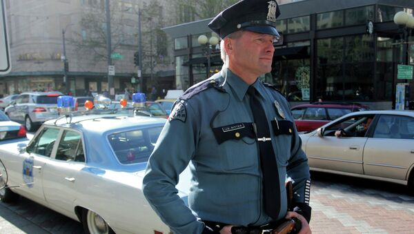 Seattle Police officer - Sputnik International