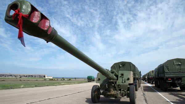 Rehearsal of the Victory Day Parade in Sevastopol - Sputnik International