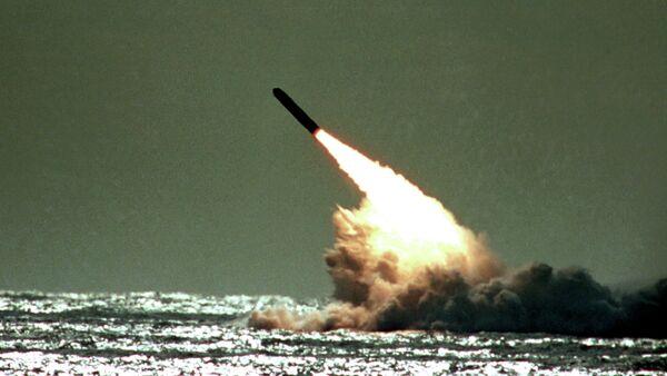 Launch of a Trident II - Sputnik International