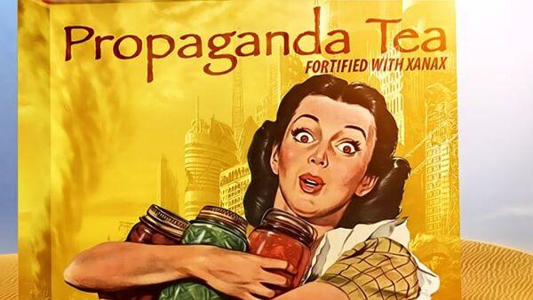Propaganda Tea - Sputnik International