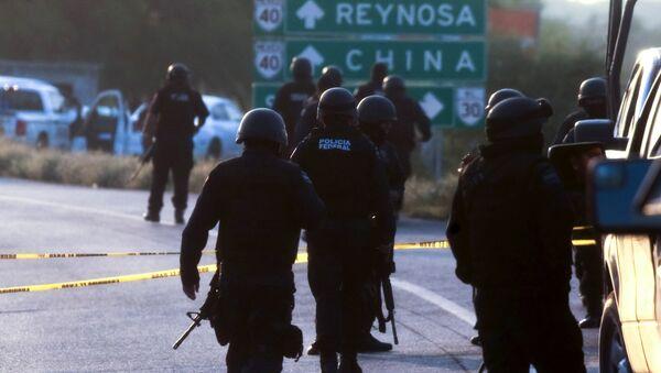 Mexican Federal personnel police - Sputnik International