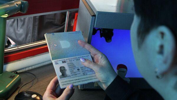 Passport control - Sputnik International