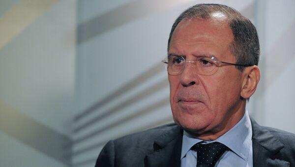 Russian Foreign Minister Sergei Lavrov - Sputnik International