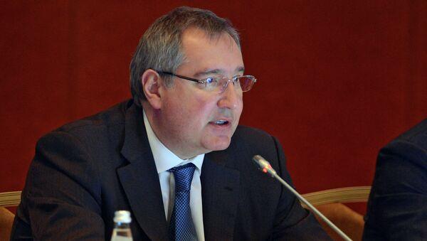 Vice-Prime Minister Dmitry Rogozin - Sputnik International