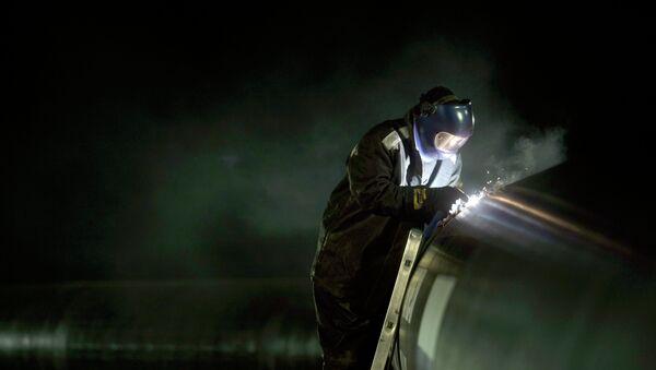 Gaz pipeline - Sputnik International