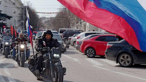 Celebration of 1st anniversary of Crimean Spring in Sevastopol - Sputnik International