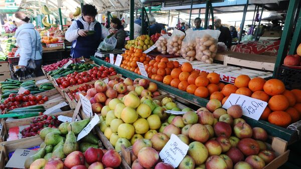 Food fair in Rostov-on Don - Sputnik International
