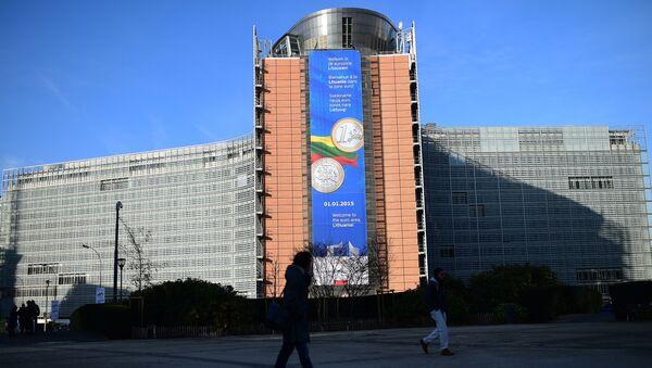Headqurters of the European Commission in Brussels - Sputnik International