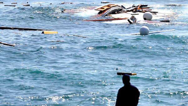 Greece migrants drown - Sputnik International
