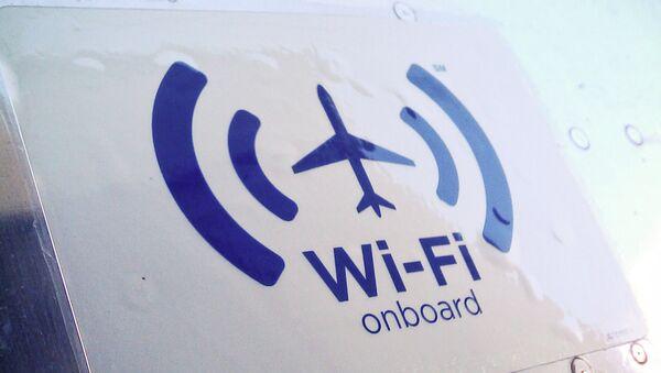 Wi-Fi onboard - Sputnik International