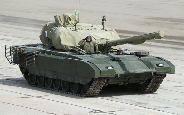 Armata tank - Sputnik International