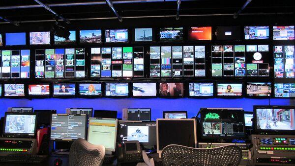 Broadcasting studio - Sputnik International
