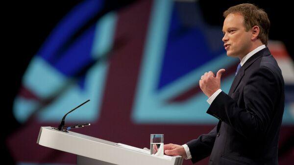 Conservative party chairman Grant Shapps opens Britain's Conservative Party Conference, Manchester, England - Sputnik International
