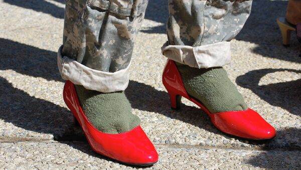 Slippery Slope? US Army Cadets Ordered to Walk a Mile in Heels - Sputnik International
