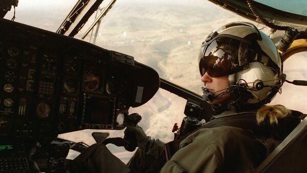 First female Marine Corps helicopter pilot - Sputnik International