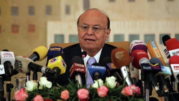 Yemeni President Abdrabuh Mansur Hadi - Sputnik International