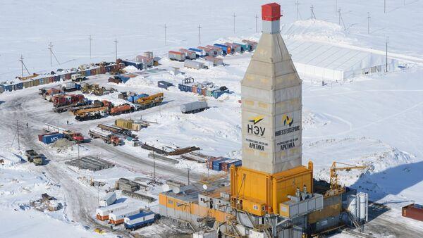 LNG plant construction in Yamal - Sputnik International