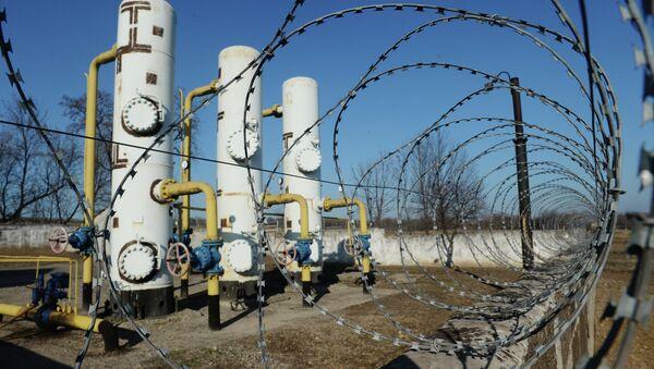 Gas distribution station in Yenakiyevo - Sputnik International