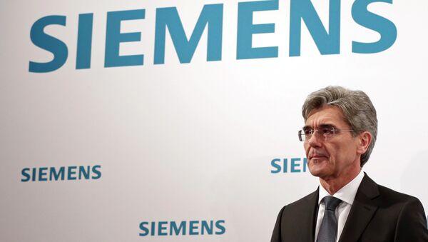 Joe Kaeser, CEO of German industrial conglomerate Siemens - Sputnik International