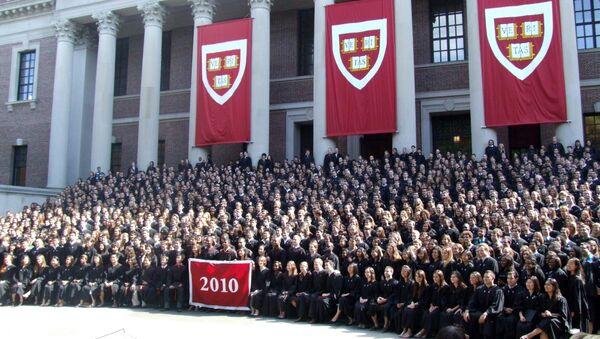Harvard College graduates - Sputnik International