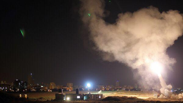 Iron Dome system intercepts Gaza rockets aimed at central Israel - Sputnik International
