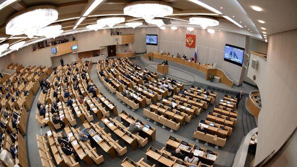 State Duma plenary session - Sputnik International