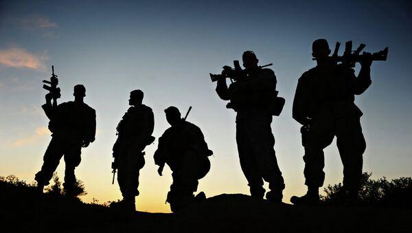 Marines Mentoring Afghan Soldiers - Sputnik International