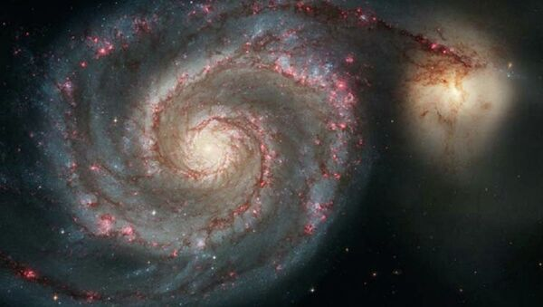 Out of This Whirl: the Whirlpool Galaxy (M51) and Companion Galaxy - Sputnik International