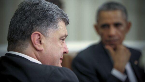Poroshenko's visit to the USA - Sputnik International