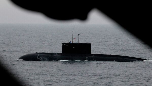 Russian navy conducts submarine rescue exercise - Sputnik International