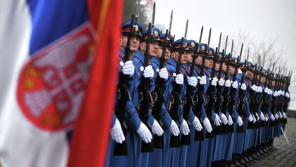 Soldiers of the Serbian Army - Sputnik International