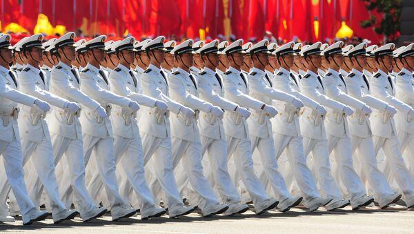 Chinese People's Liberation Army (PLA) officers - Sputnik International