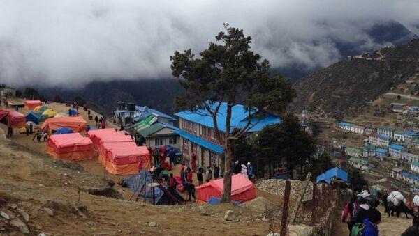 Massive Nepal Earthquake - Sputnik International