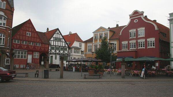 Historic downtown of Haderslev - Sputnik International