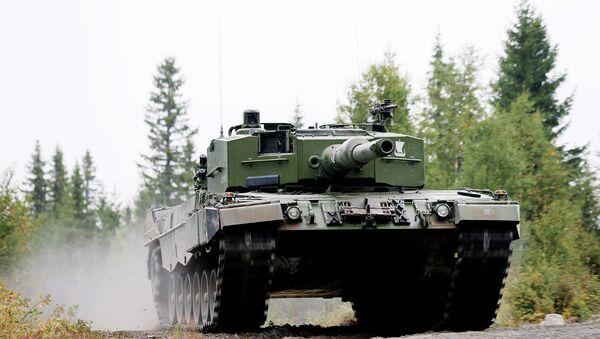 Norwegian Leopard 2 A4 NO Tank - Sputnik International