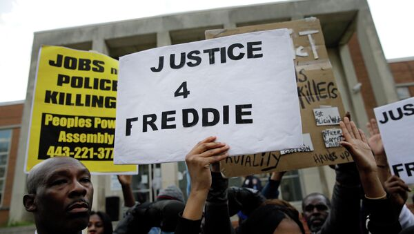At least two media outlets have begun spreading false reports and unsubstantiated rumors that Freddie Gray had pre-existing injuries that would vindicate the Baltimore police force - and many more are unquestioningly reposting them - all while official sources remain silent. - Sputnik International