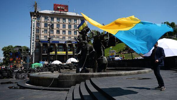 Independence Square in Kiev - Sputnik International